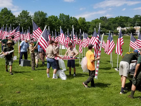 Memorial Day: Flags for Our Heroes
