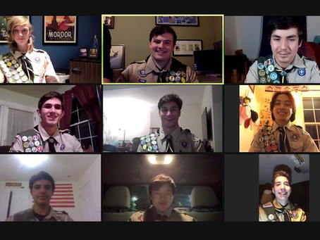 Newest Eagle Scouts