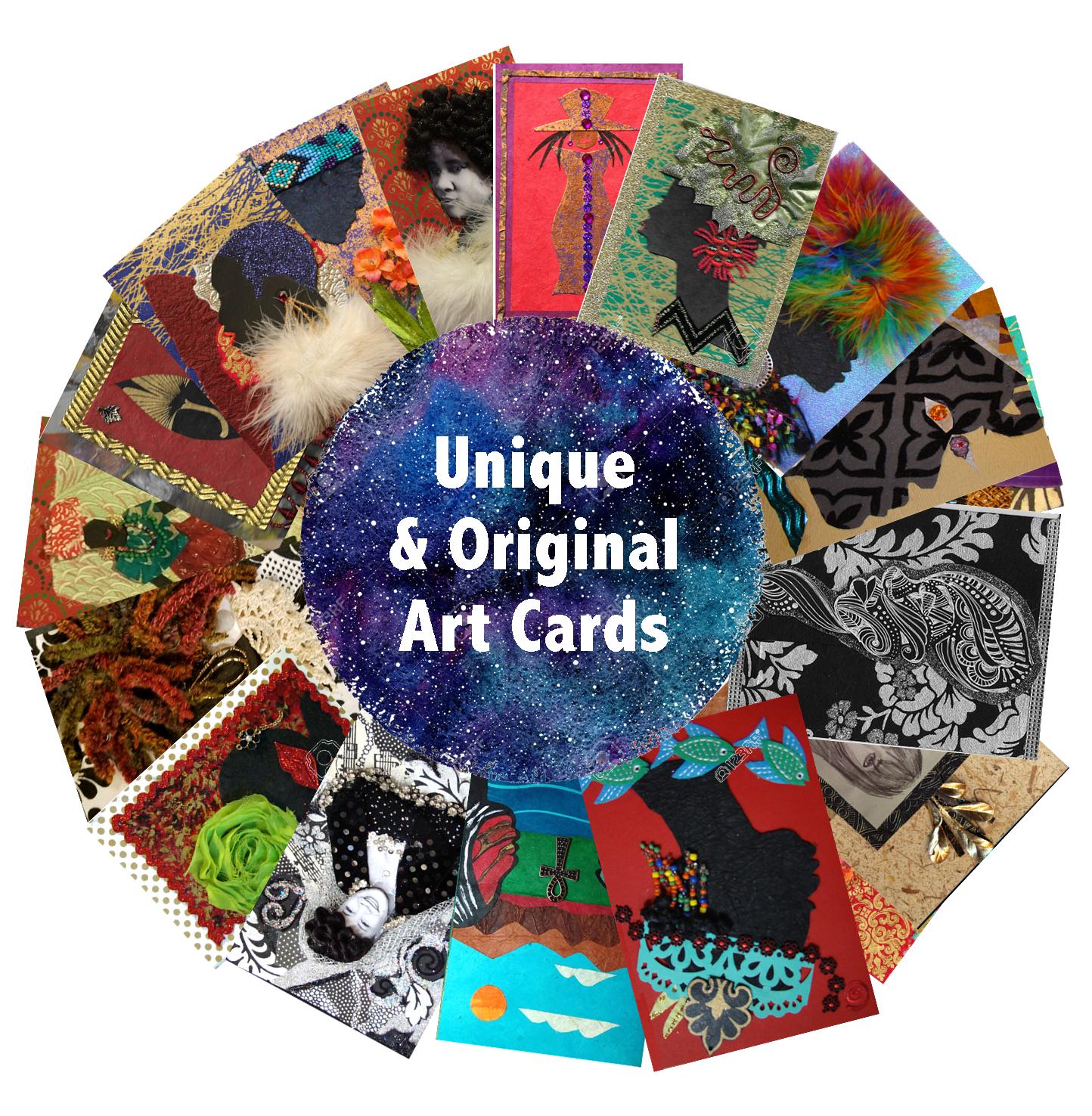 Flashing Brilliance Art Cards