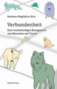 Buchcover Verbundenheit Animal Studies Philosophie Phänomenologie