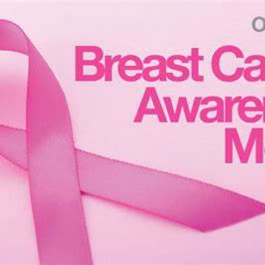 Fundraiser Candles Breast Cander Awareness MEDIUM