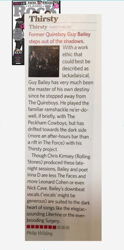 Classic Rock Magazine Thirsty Review