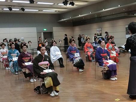 山﨑伊久江美容室『第224回社内やまと髪コンテスト』