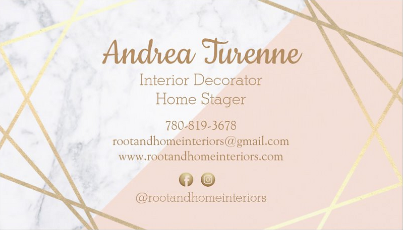 Business Card Root & Home Interiors