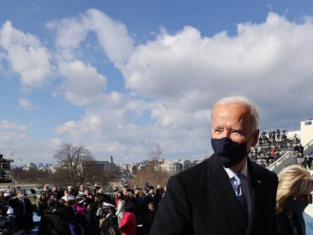Mass. pols express relief as Biden takes office