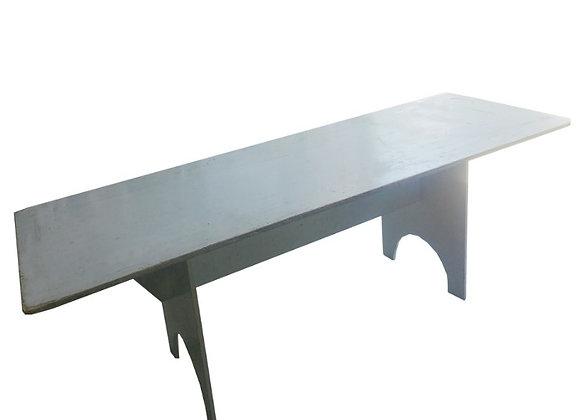 Table rectangulaire treteaux