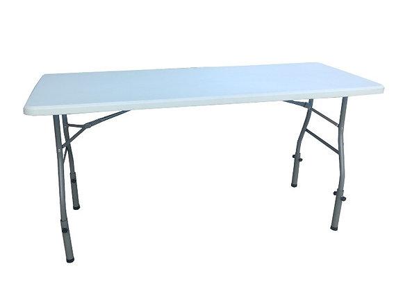 Table rectangulaire plastique H:90