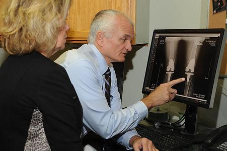 Dr. Blanda knee x-ray