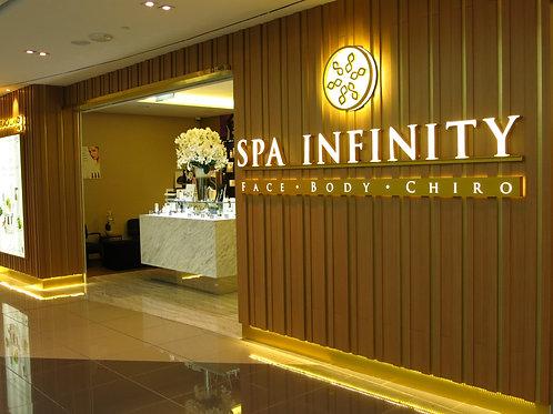 Spa Infinity Singapore Escapade for 1 pax
