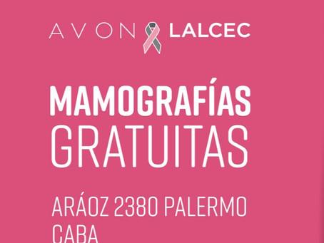Mamografías Gratuitas AVON-LALCEC