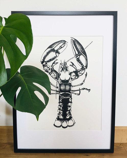 Large Lobster Print