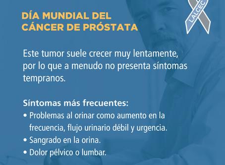 Semana de concientización sobre el cáncer de próstata en LALCEC