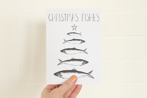 Christmas Fishes - Christmas Card