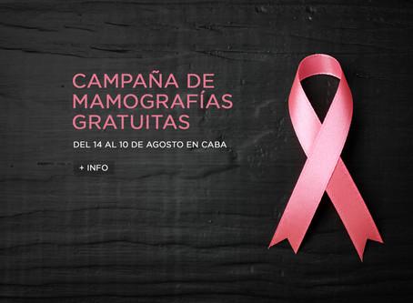 Mamografías Gratuitas