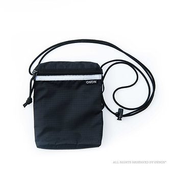 3-WAY RFID RIPSTOP POUCH - BLACK