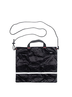 FOLDABLE TOTE (S) / BLACK