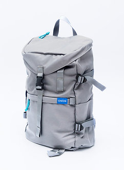 """ADV"" STREET BACKPACK/ LIGHT GREY"