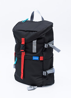 """ADV"" STREET BACKPACK / SIMPLE BLACK"
