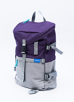 STREET BACKPACK/ VIOLET LIGHT GREY