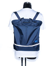 AIR DAY TOTE (M) NAVYBLUE