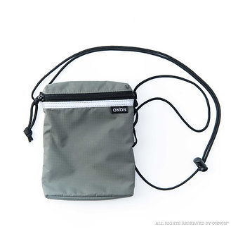 3-WAY RFID RIPSTOP POUCH - CHARCOAL GREY