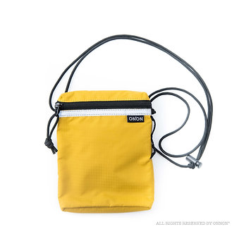 3-WAY RFID RIPSTOP POUCH - YELLOW