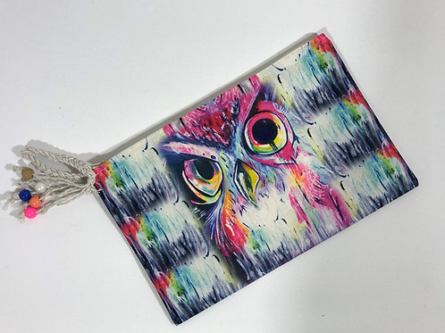 Kadın Cüzdan Renkli Baykuş