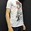 Thumbnail: Kara Kalem Kadın Figürlü T-Shirt
