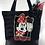 Thumbnail: Kadife Mickey Mouse Omuz Çantası