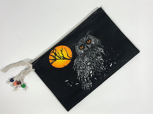Kadın Cüzdan Siyah Baykuş