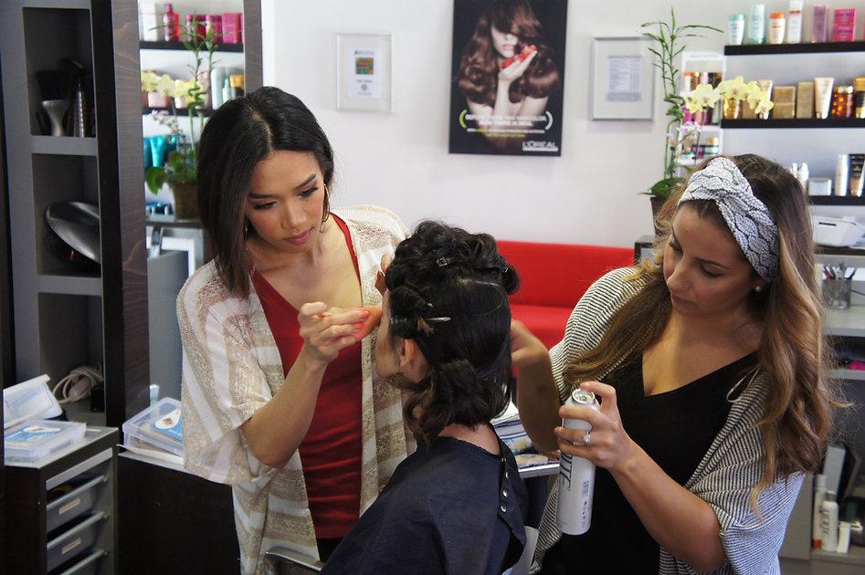 Ladies Styling at JoLsalon