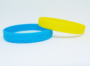 embossed wristband