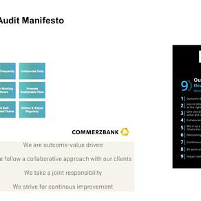 Agile Audit Manifesto