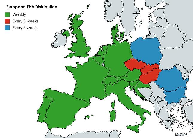 european fish distribution