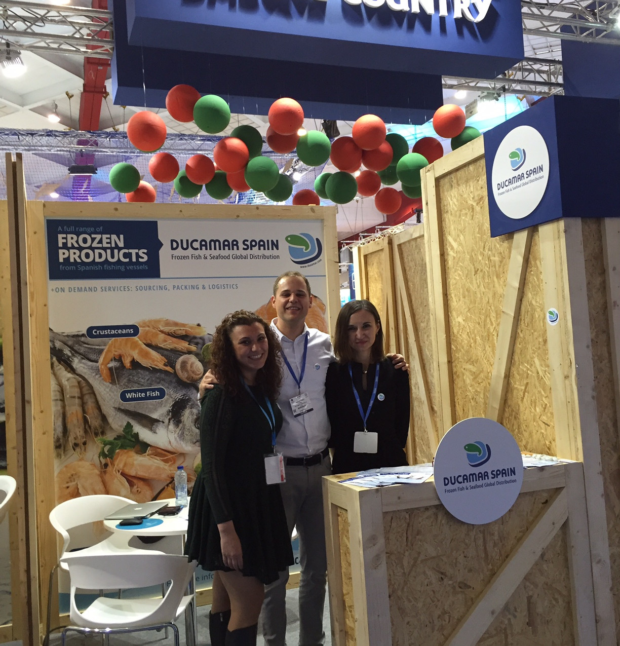 Ducamar at Seafood Expo Global 2016