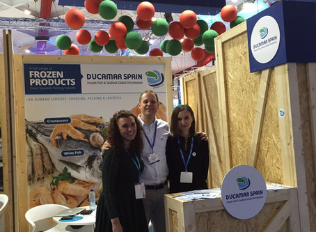 Ducamar Spain at Seafood Expo Brussels 2016