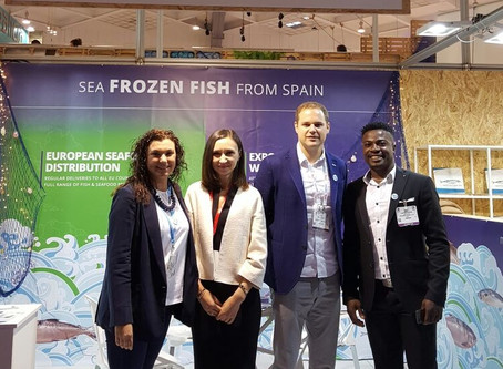 Ducamar Spain at Seafood Expo Global Brussels 2017