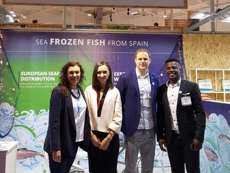 Ducamar Spain at Seafood Expo Global Brussels 2017