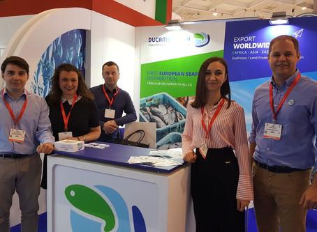 Ducamar Spain at Seafood Expo Global Brussels 2018