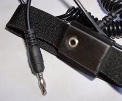 Slotted End Wrist Strap