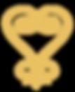 SANKOFA HEART LOGO - Golden Small-01.png