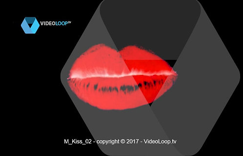 VideoLoop.tv | Red lips speak