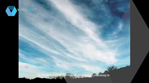 VideoLoop.tv | Colored clouds loop animation