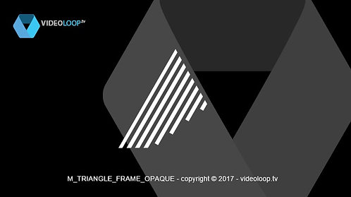 VideoLoop.tv | Triangle animated hatch