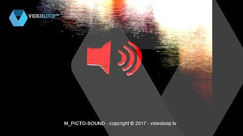 VideoLoop.tv   Shaking sound pictogram