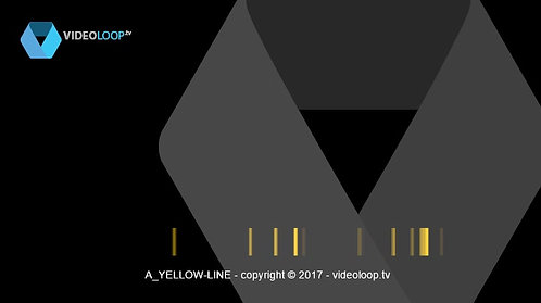 VideoLoop.tv | Yellow lines horizontal animation