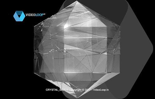 VideoLoop.tv | Turning crystal