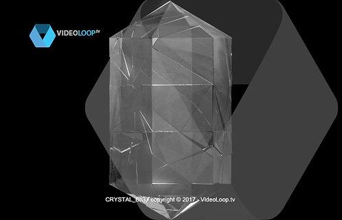VideoLoop.tv   Turning crystal