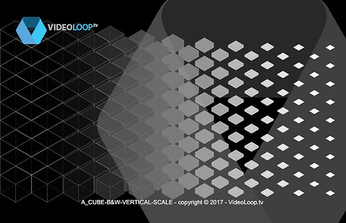 VideoLoop.tv | A isometric cubes wave animation