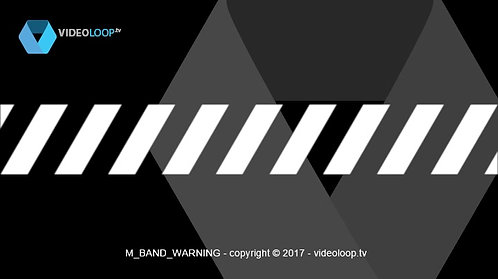 VideoLoop.tv | Warning band
